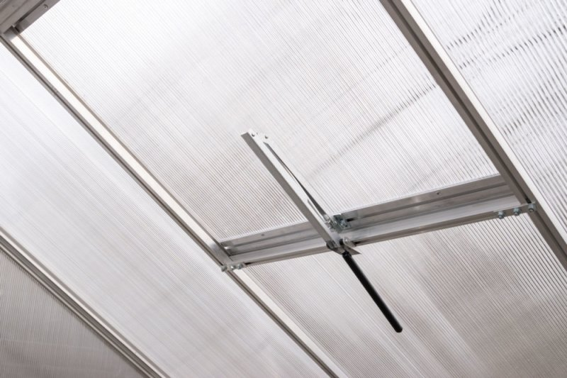 Szklarnia Sanus XL-12 wymiar 2,9x4,3m H=2,25m 12,5m2 poliwęglan 6mm