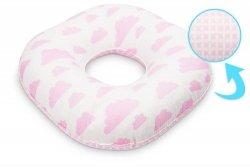 Poduszka poporodowa Różowe wzory koło