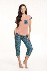 Piżama Luna 602 kr/r 4XL