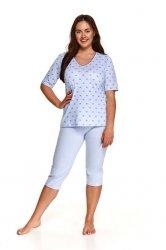 Piżama Taro Lidia 2372 kr/r 2XL-3XL L'21