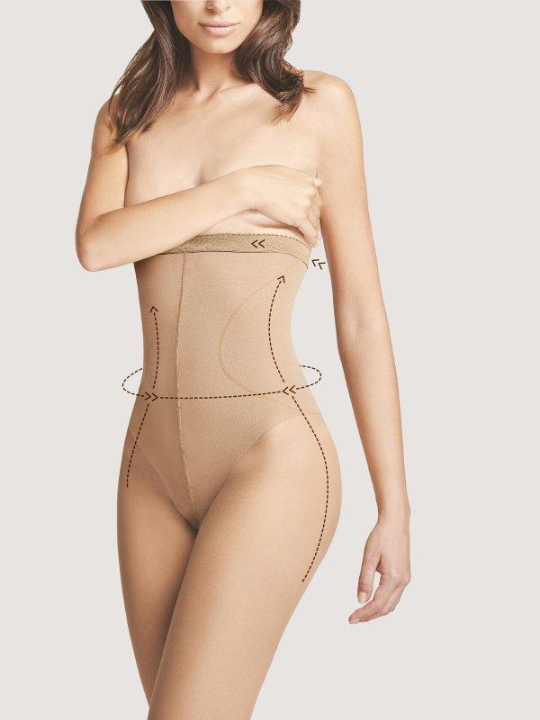 Rajstopy Fiore Body Care High Waist Bikini M 5114 20 den