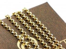 Łańcuszek ROLO 55cm 2,0mm złoto 585