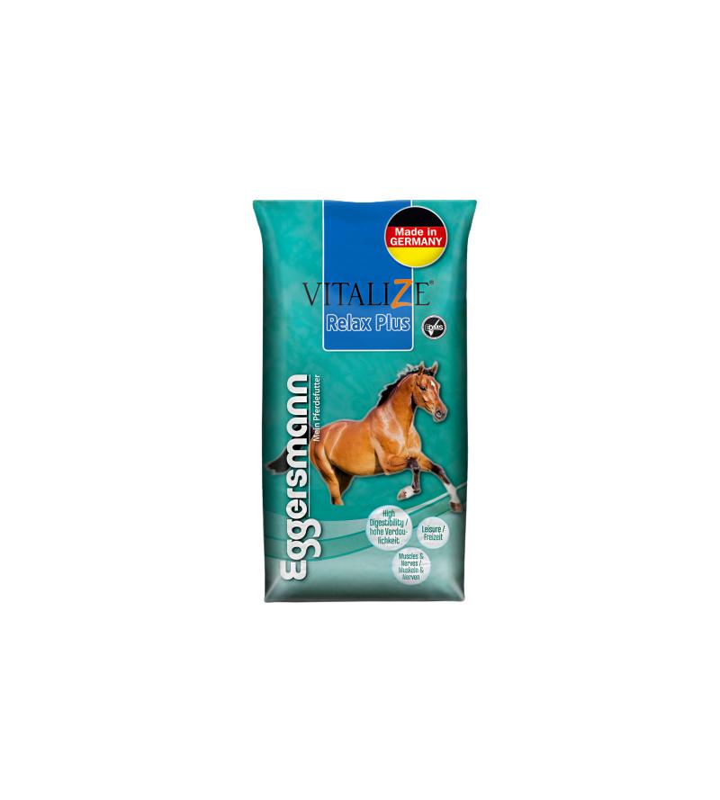 Vitalize Relax Plus Musli z prebiotykiem AO-Ferm dla koni nadpobudliwych 20kg  Eggersmann