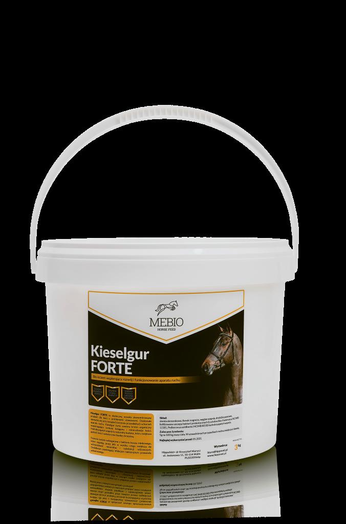 Kieselgur Forte - krzem 3 kg Mebio