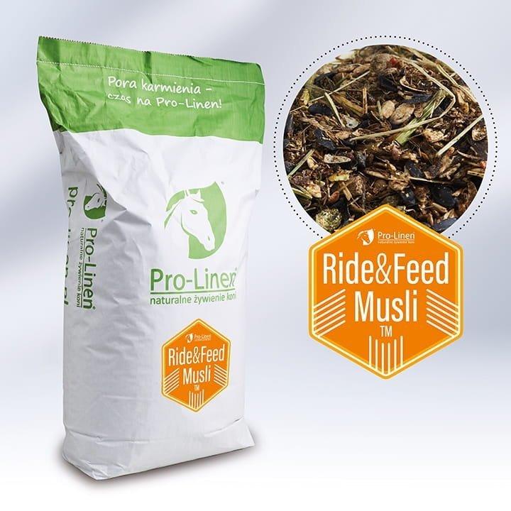RIDE&FEED (pasza skoncentrowana) 20kg  Pro-linen