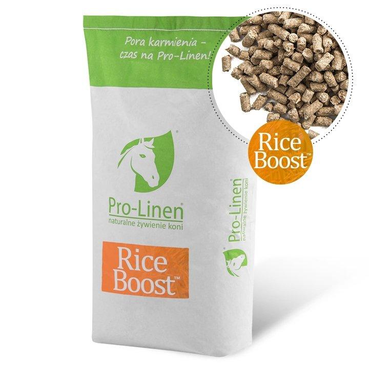 RICE BOOST 15 kg (otręby ryżowe + zarodki) Pro-linen