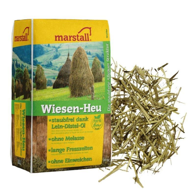 WIESEN-HEU sieczka-alternatywa siana 15kg Marstall