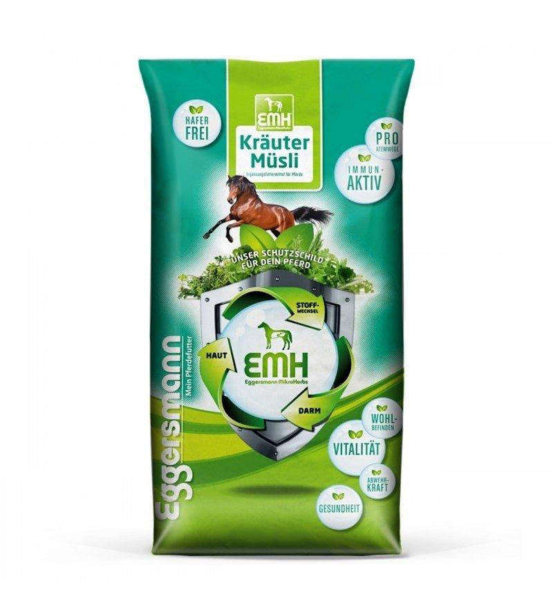 EMH Krauter Musli- musli dla koni z problemami oddechowymi 20 kg  Eggersmann