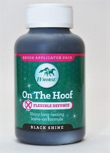 Lakier On The Hoof Shine/czarny  250 ml  IV Horse