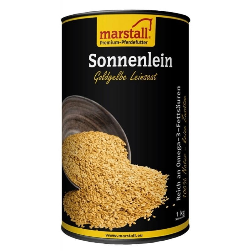 SONNENLINE żółte siemię lniane 1kg Marstall