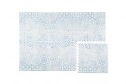 Mata do zabawy piankowa podłogowa Prettier Playmat Persian Sea Spray Blue
