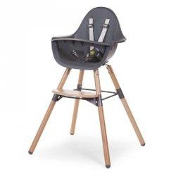 Krzesełko do karmienia Evolu 2, Natural/Anthracite, 6m+