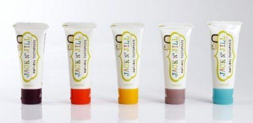 Naturalna Pasta do zębów, organiczna truskawka i Xylitol, 50g
