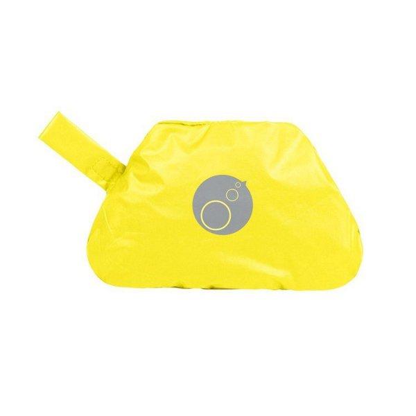 Fartuszek-śliniaczek wodoodporny z rękawami, Lemon Sherbert, 2-4 lat