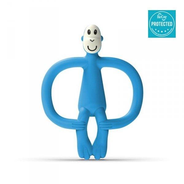 Monkey Azure Blue Gryzak Masujący ze szczoteczką
