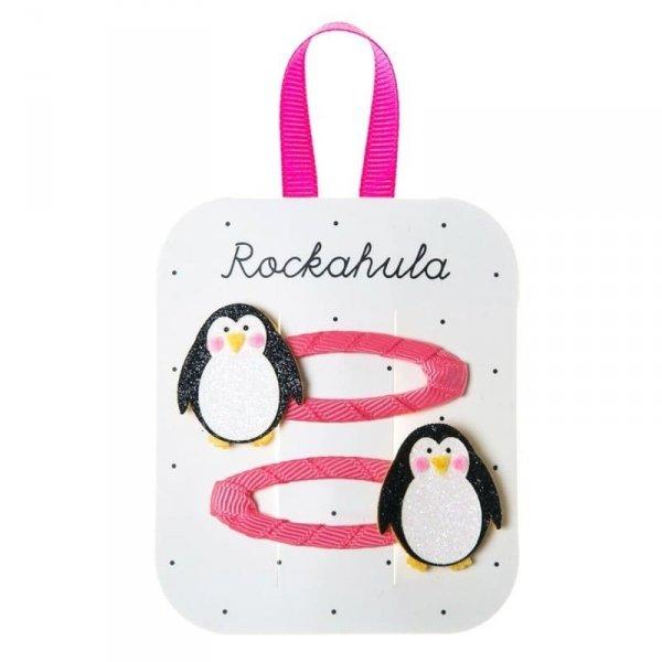 Spinki do włosów Penguin Glitter