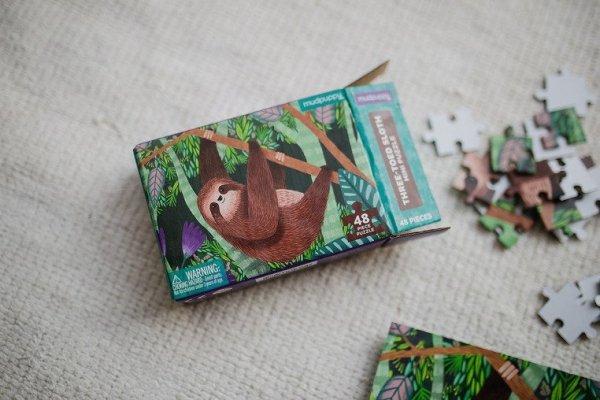 Puzzle mini Leniwiec trójpalczasty 48 elementów