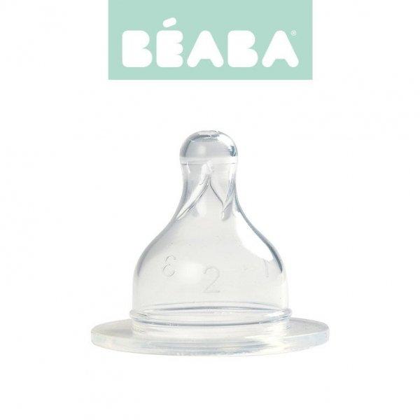 Zestaw 2 smoczków do butelek szerokootworowych, zmienny przepływ