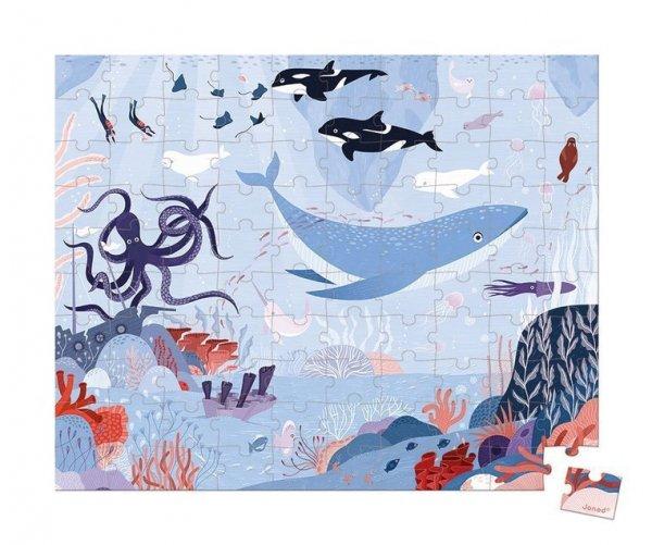 Puzzle w walizce Ocean arktyczny 100 elementów