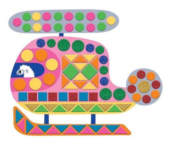 Zestaw kreatywny Mozaika Pojazdy