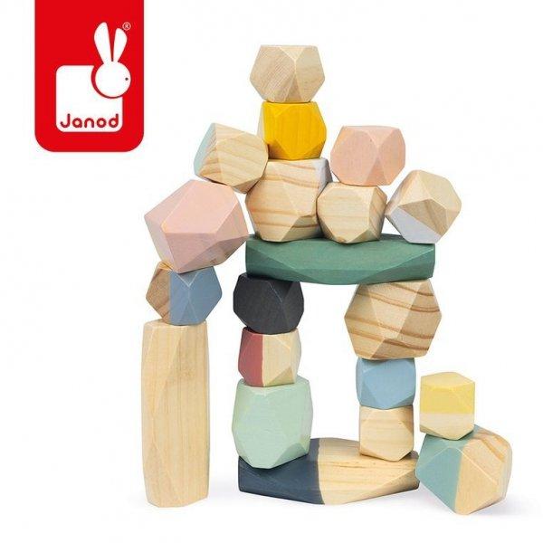 Drewniane kamyki Sweet Cocoon 20 elementów