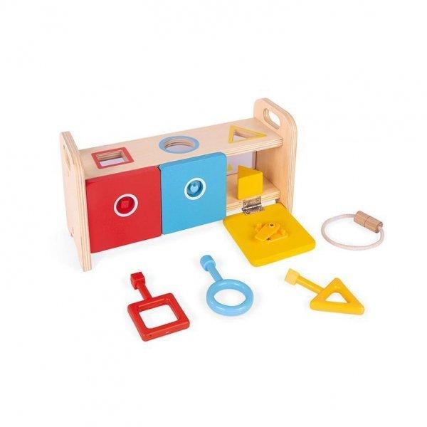 Drewniany sorter z kluczykami Essentiel