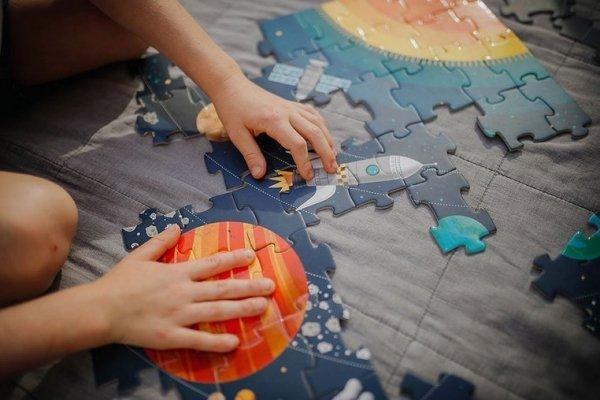 Puzzle edukacyjne Układ słoneczny 100 elementów 5+
