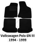 Dywaniki welurowe Volkswagen Polo
