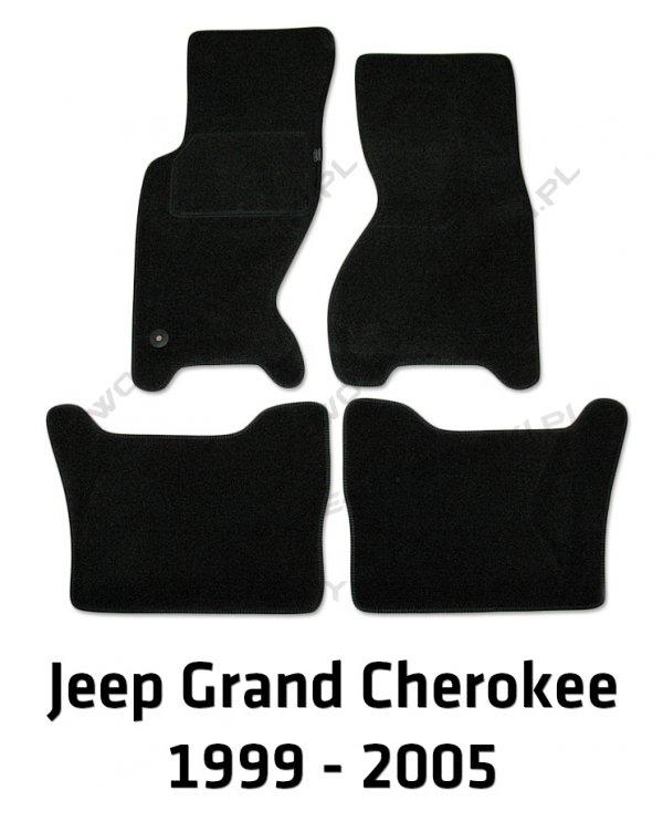 Dywaniki welurowe Jeep Grand Cherokee