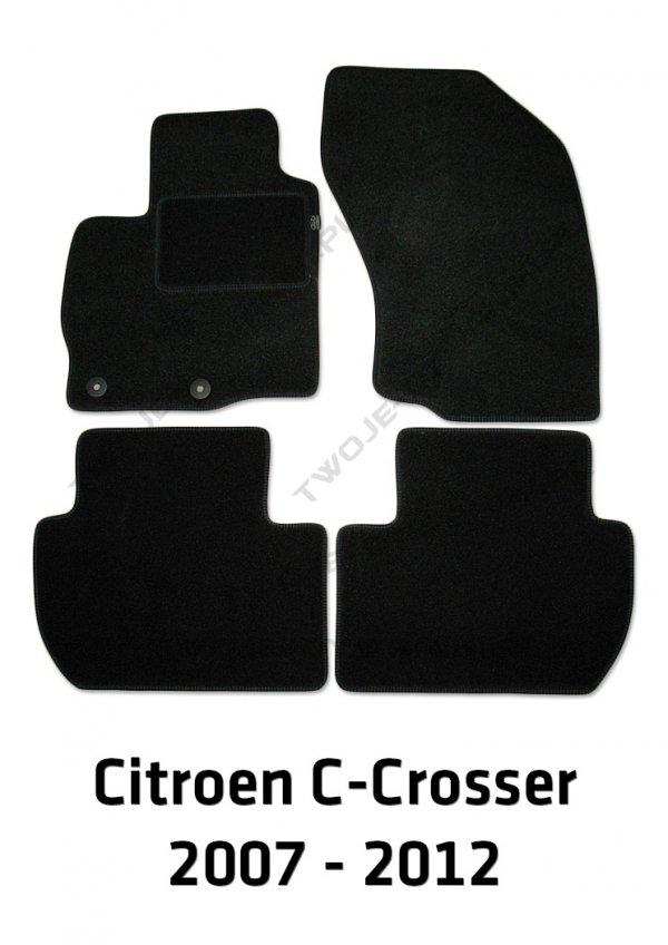 Dywaniki welurowe Citroën C-Crosser