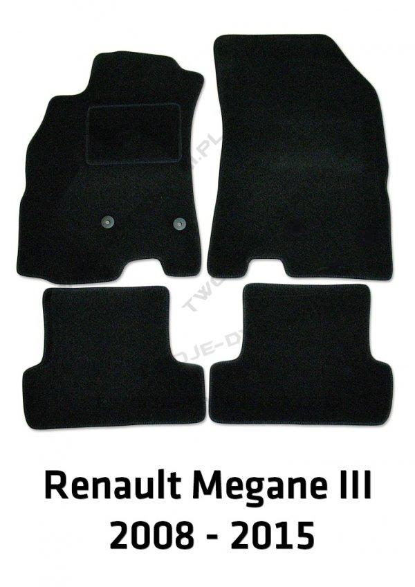Dywaniki welurowe Renault Megane