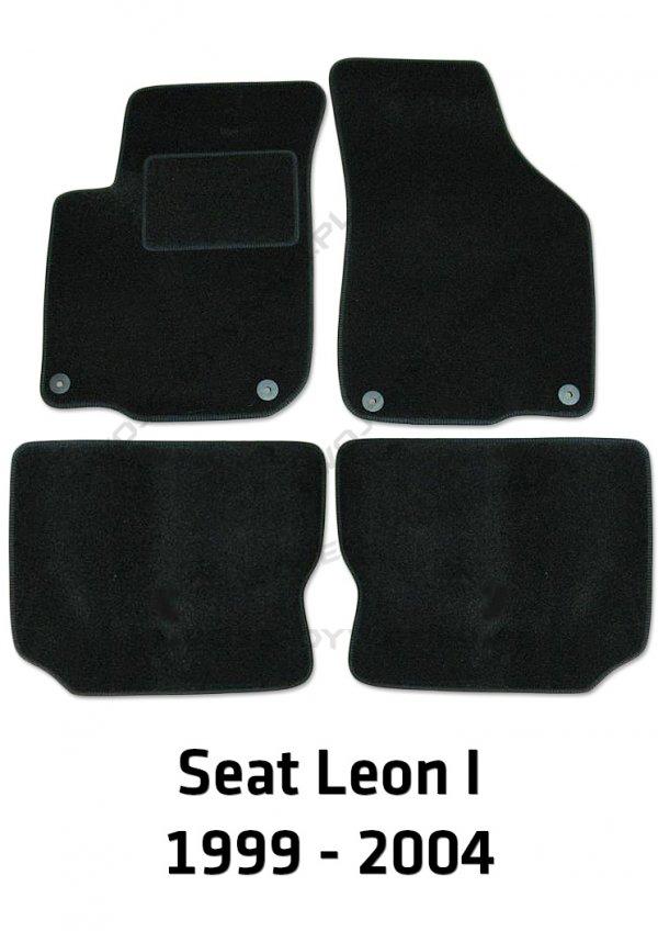 Dywaniki welurowe Seat Leon