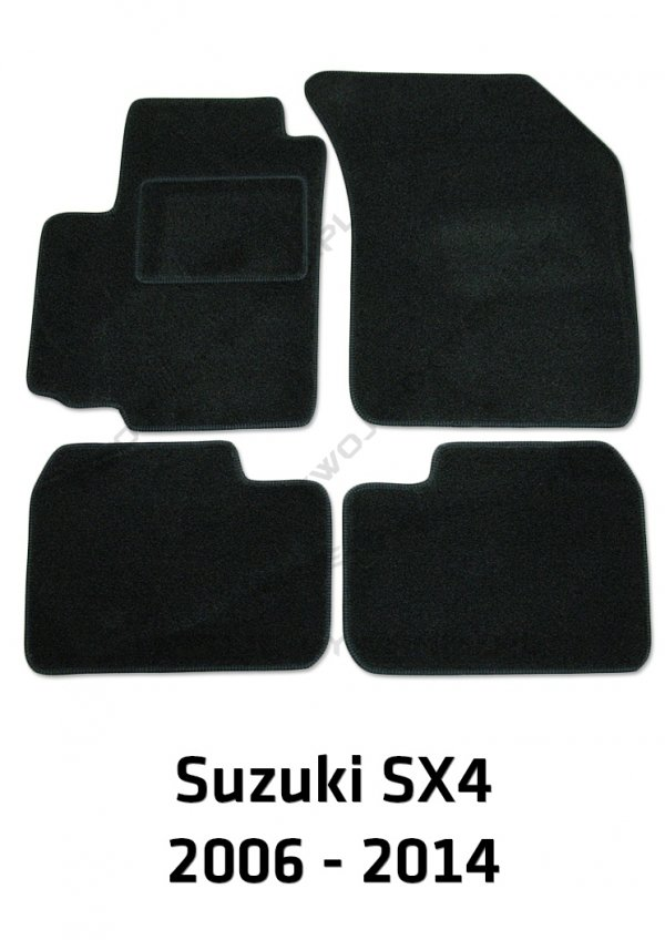 Dywaniki welurowe Suzuki SX 4