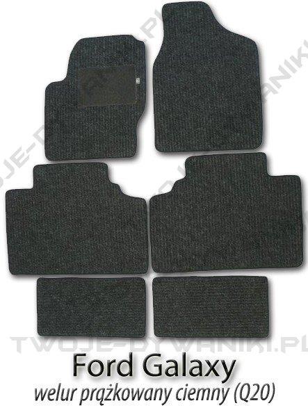 Dywaniki welurowe Ford Galaxy