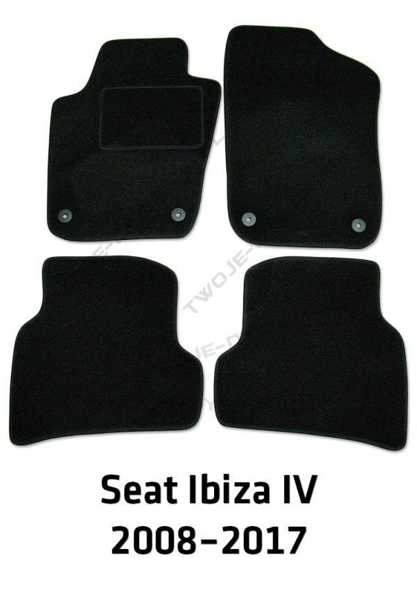 Dywaniki welurowe Seat Ibiza