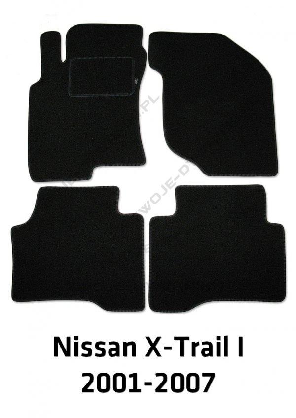 Dywaniki welurowe Nissan X-Trail