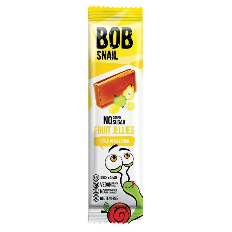 Przekąska Jellies jabłko-gruszka-cytryna bez dodatku cukru Bob Snail, 38g