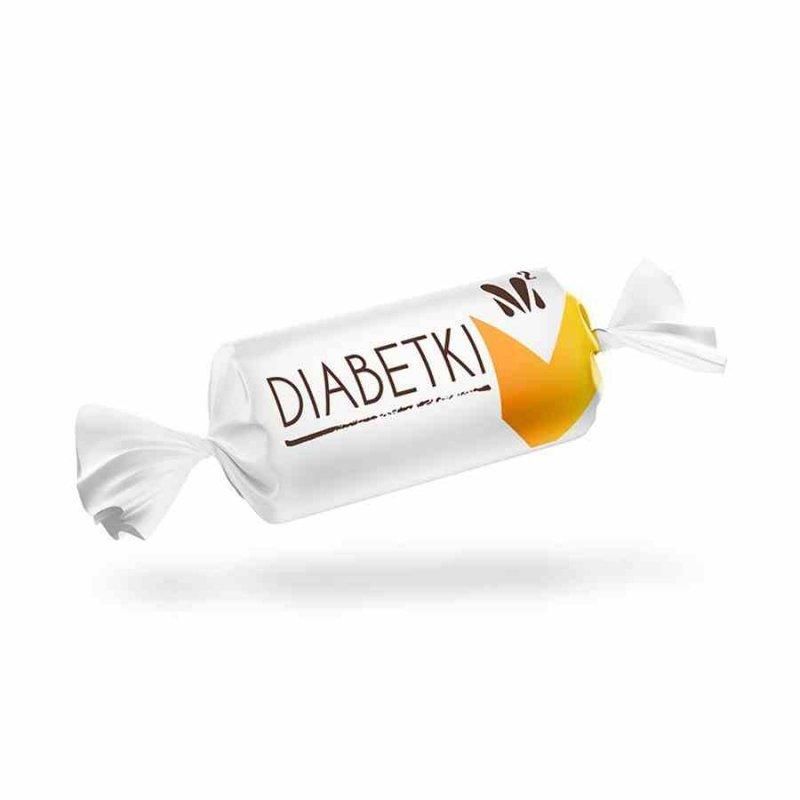Czekoladki orzech arachidowy Diabetki, 100g