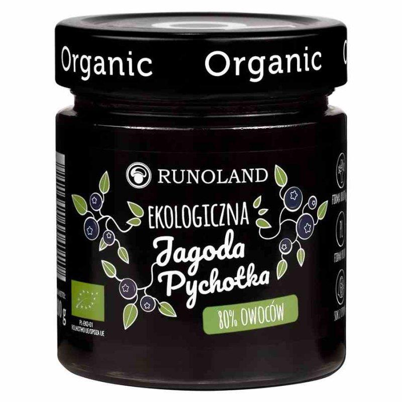 Pychotka jagodowa 80% owoców o konsystencji konfitury Runoland BIO, 200g