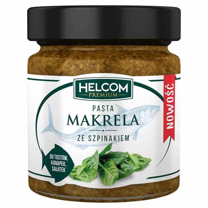 Pasta z makreli ze szpinakiem Helcom, 180g