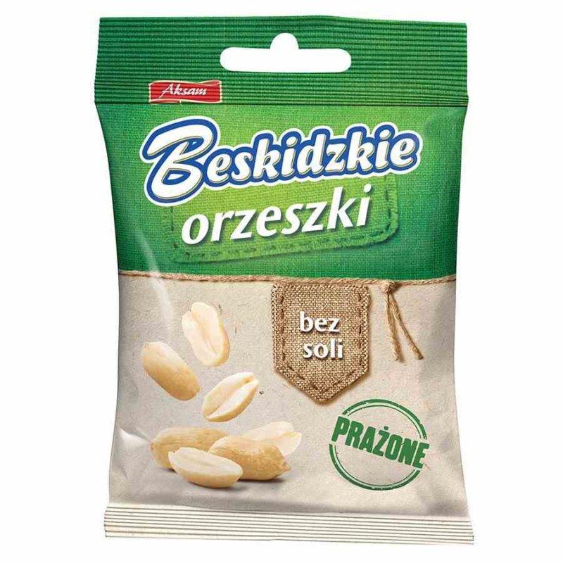 Orzeszki bez soli Beskidzkie, 70g