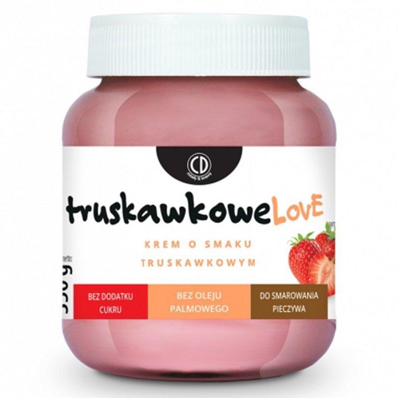 Krem o smaku truskawkowym - TRUSKAWKOWELOVE CD, 350g