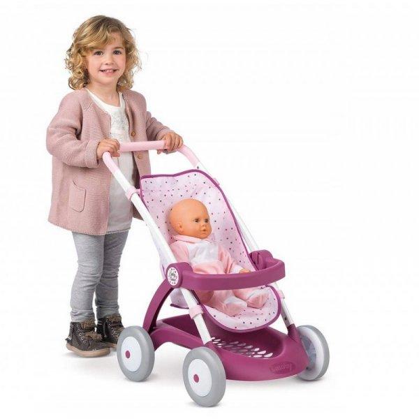 SMOBY Spacerówka Wózek dla Lalek Baby Nurse
