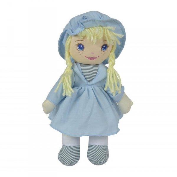 Lalka Szmacianka Dolly Niebieska Simba