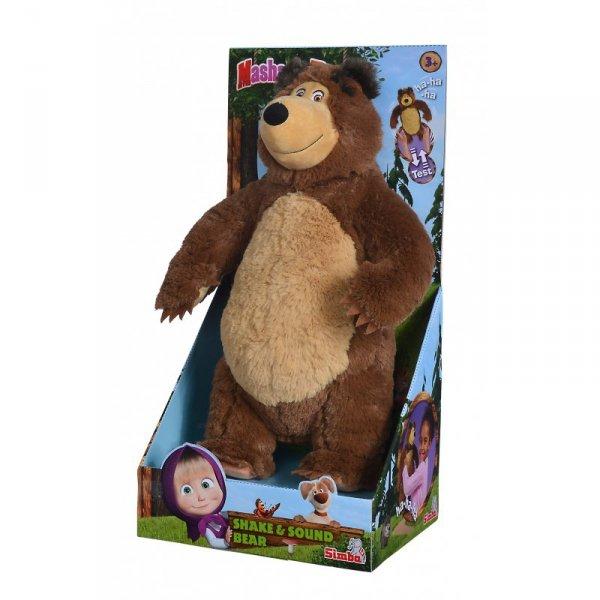 SIMBA Śmiejący się Misza Interaktywny Niedźwiedź 43 cm
