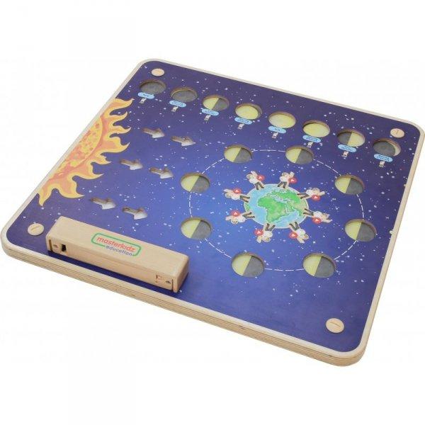 MASTERKIDZ Tablica Edukacyjna Fazy Księżyca