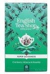 English Tea Shop, Herbata Cranberry, Hibiscus & Rosehip, 20 saszetek