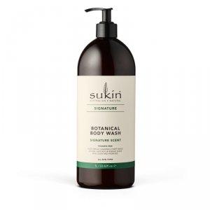 Sukin, SIGNATURE Roślinny żel pod prysznic, 1L
