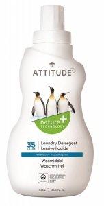Attitude, Płyn do prania, Kwiaty Polne (Wildflowers) 35 prań, 1050 ml