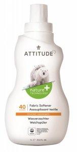 Attitude, Płyn do płukania, Skórka Cytrynowa (Citrus Zest) 40 płukań, 1040 ml